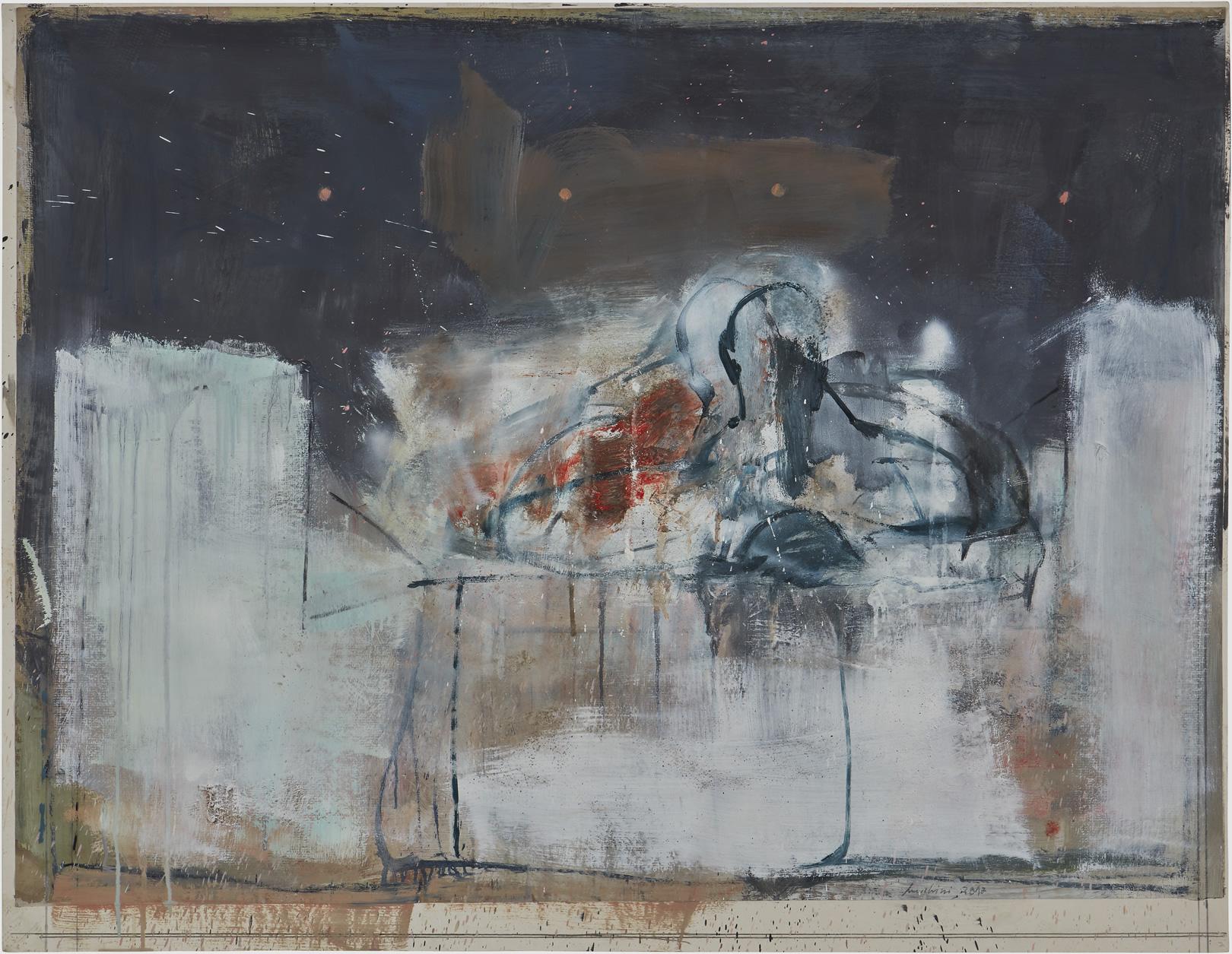 Presenza in un interno, omaggio a A.Giacometti